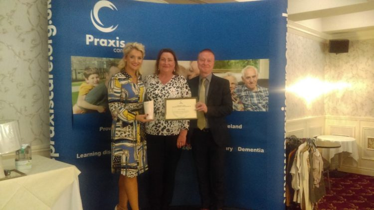Praxis Care Awards Their Volunteers